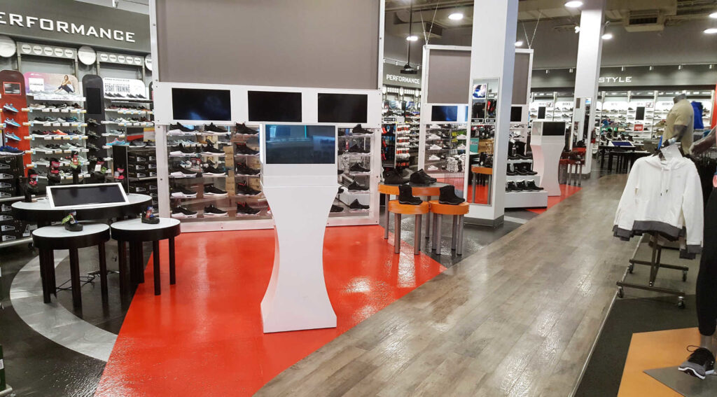 Retail Store beautifully cleaned