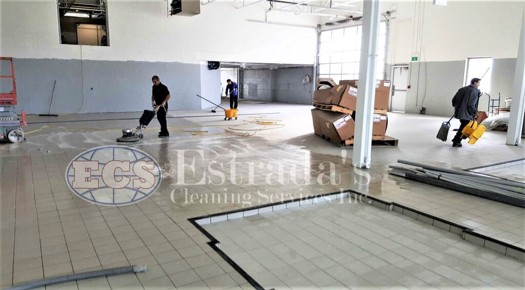 Complete industrial cleaning services