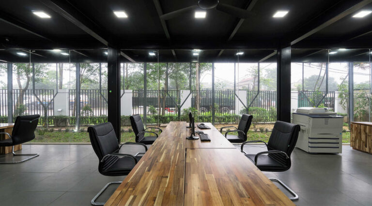 Clean office space